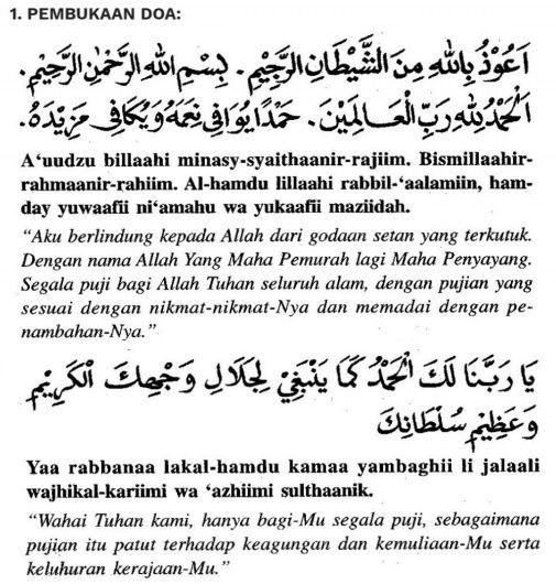 Doa Selepas Solat Fardhu Yang Ringkas Dan Mudah Dihafal Solat Doa Doa Islam