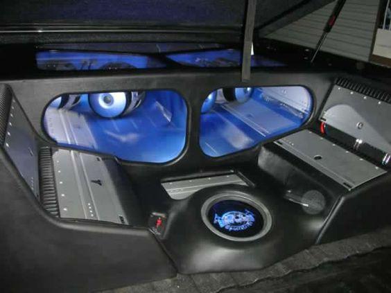 GMC sierra truck bed plexi custom fiberglass | Car Audio ...