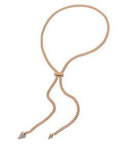 Vita Fede: Titan Chain Crystal Necklace