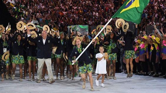 Olympia 2016 Delegation Brasilien