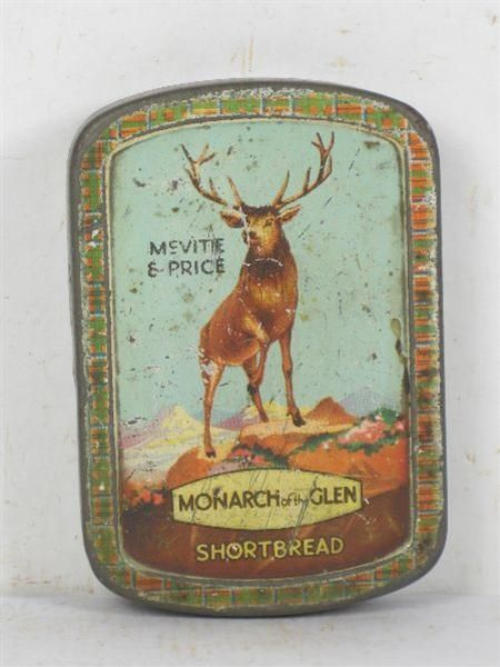 McVitie biscuit sample tin