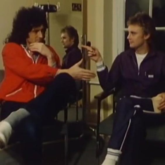 Brian and Roger