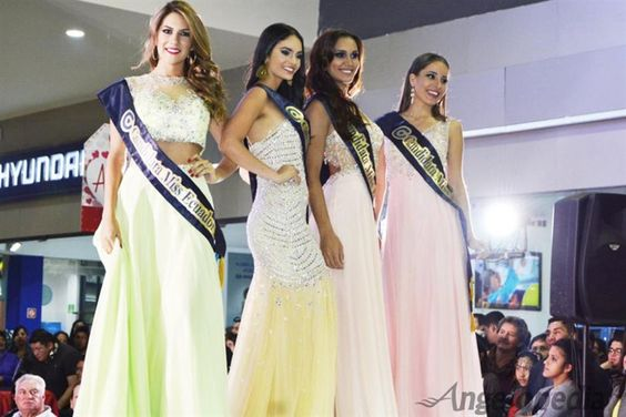 Miss Ecuador 2016 contestants dazzled in Evening Gowns