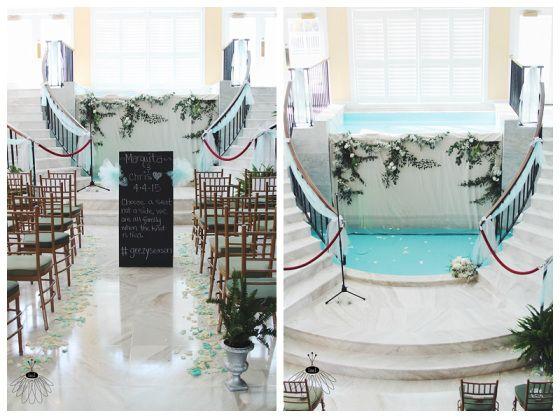 Coconut Malorie Wedding Ocean City MD Little Miss Lovely Floral Design