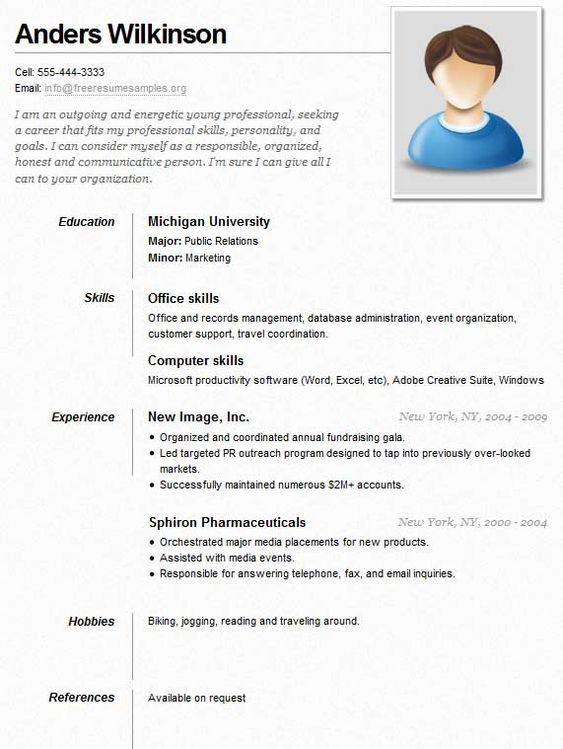 example of a neat and clean resume   resume advice and ideas    example of a neat and clean resume
