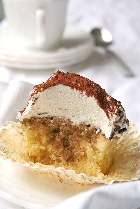 Tiramisu Cupcakes   Recipe   Cupcake, Tiramisu cupcakes ...