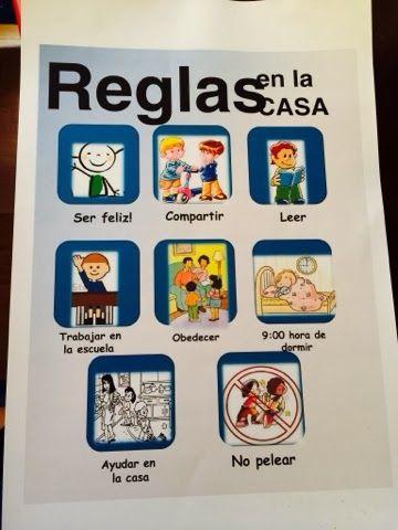 365 days proyect my kid 39 s diary d a 59 pesadillas reglas for Imagenes de las reglas de la casa