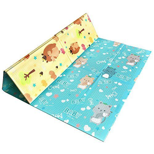 Foldable Baby Playmat Crawling Mat