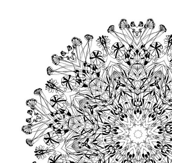 Cyber Monday Etsy Art Sale Complicated Boundary Mandala Etsy In 2020 Original Abstract Art Etsy Art Art