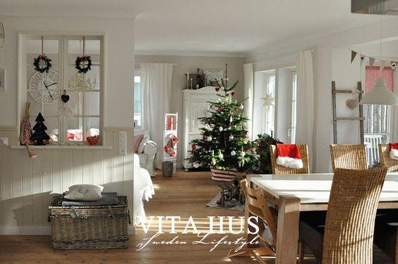 VitaHus * Weihnachten Merry Christmas Pinterest Weihnachten - offene küche wohnzimmer abtrennen
