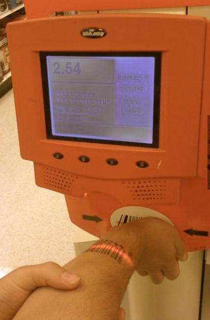 Oreo barcode..