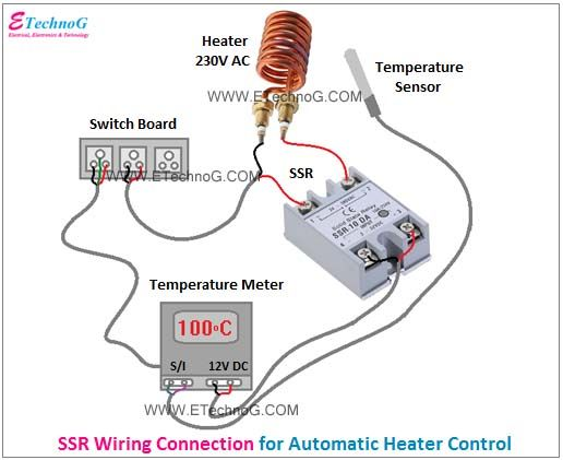 Ssr Wiring Connection Diagram In 2020 Relay Connection Surge Protection