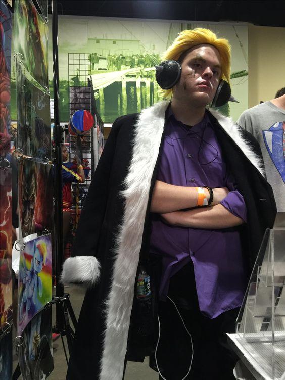 Fairy Tail Loxus Cosplay Boston Comic Con CWBT Colorworldbooks