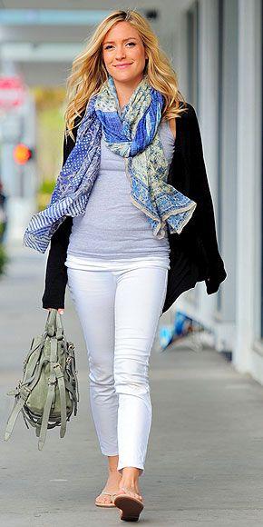 Kristin Cavallari maternity style: