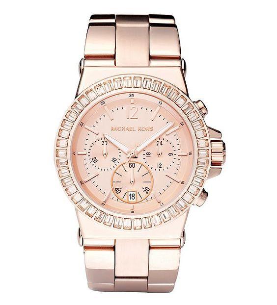 My next Michael Kors watch! Rose Gold Chronograph Watch