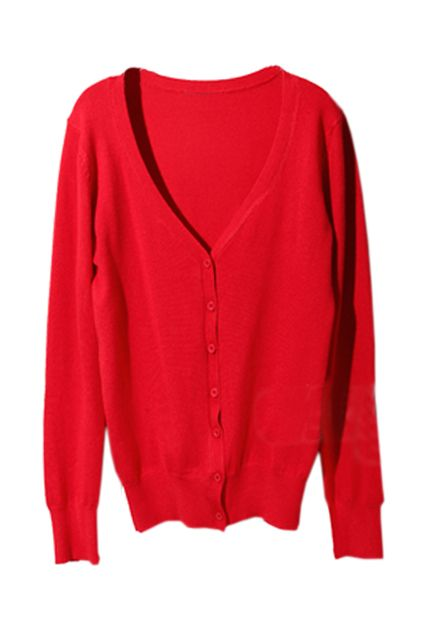 sometimes you just want a red cardigan