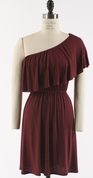 Comfy, cute and MAROON! :)    (http://www.adabelles.com/the-oh-so-sweet-burgundy-dress/)