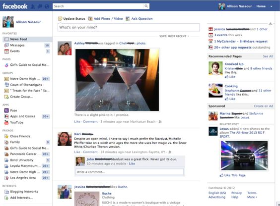 declutter your facebook page!