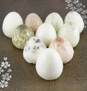 Make savory hard-boiled eggs in a food grade silicone, egg-shaped mold.