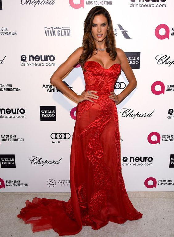 Alessandra Ambrosio, post-Oscar 2015 Siempre espectacular, me encanta esta chica