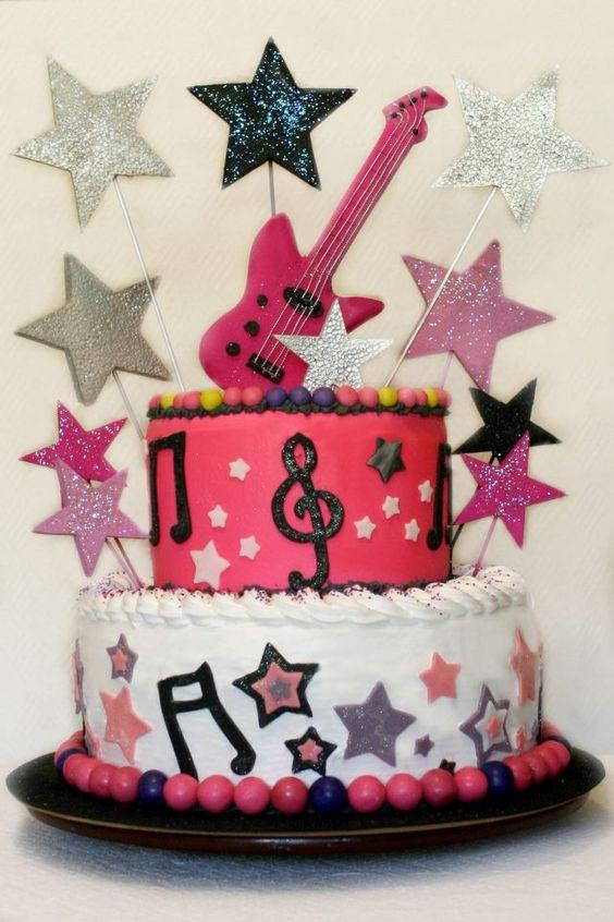 """Teen Rockstar"" Cake"