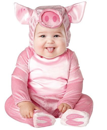 Let your baby dress up in this adorable Cozy Cow Costume for infants this Halloween and start your own collection of farm animals! Heu0027ll look cuter than any ...  sc 1 st  Pinterest & babyouts.com halloween outfits for babies (01) #babyoutfits | Baby ...