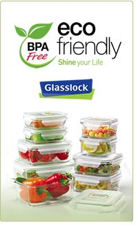 Glasslock containers instead of plastic