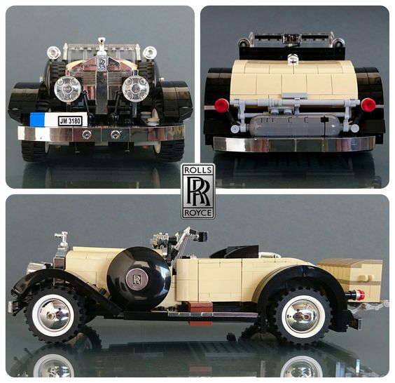 https://flic.kr/p/EnE2Ye | Rolls Royce Springfield Silver Ghost Playboy Roadster | Built for Lugnets 100th challenge... www.flickr.com/groups/lugnuts/discuss/72157664118792946/  For more, please click the link below: www.moc-pages.com/moc.php/425751  Hello everyone, here's my newest model, a vintage car from a long time ago. This is my entry for a challenge for a group over Flickr called Lugnets, which in short you pick a number from 1-100 then the admins assign you a mission to build a car…
