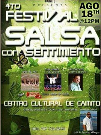 Festival Salsa con Sentimiento 2013 @ Centro Cultural de Caimito, San Juan #sondeaquipr #salsaconsentimiento #caimito #sanjuan
