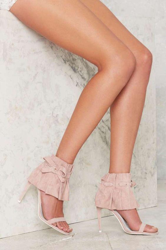 71ed38ef916 IVANKA TRUMP Garver Lace Up High Heel Sandals