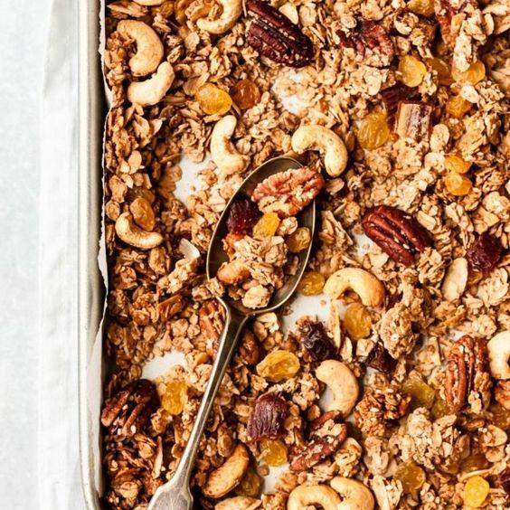 1001 Ideen Und Rezepte Wie Sie Granola Selber Machen In 2020 Granola Selber Machen Rezepte Crunchy Musli Selber Machen