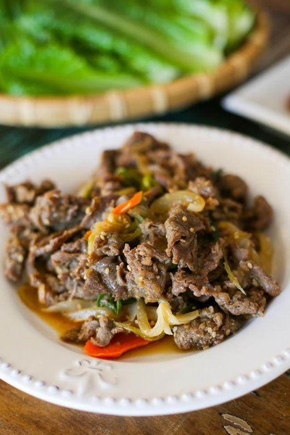 Also need Asian bulgogi recipes propper