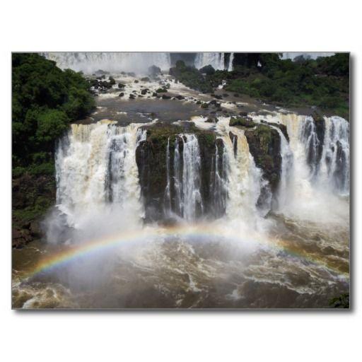 Postcard Iguaçu Falls National Park, Brazil Carte Postale