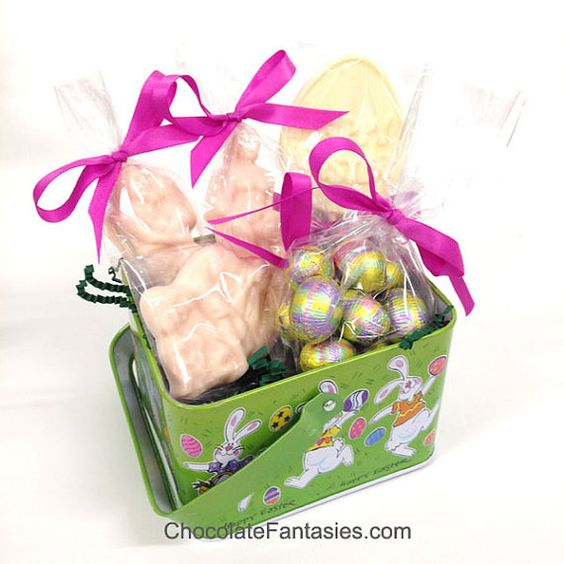 X-Rated Adult Easter Basket With Chocolate Erotic Couples