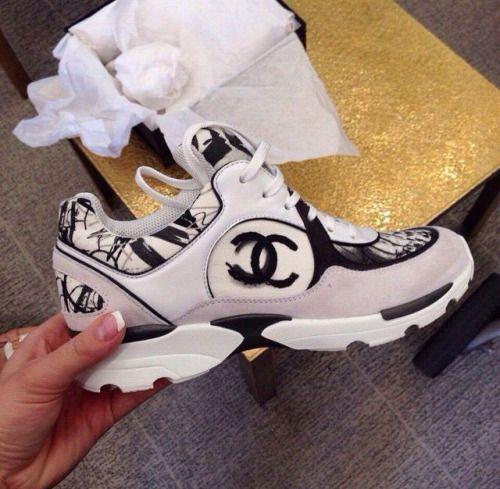 مب شغلك. Chanel trainers | Chanel shoes
