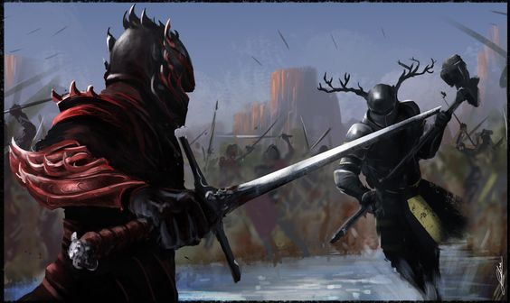 Robert Baratheon Vs. Rhaegar Targaryen.
