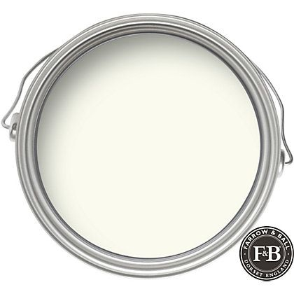 Wimborne White by Farrow and Ball - It's counterpart in Benjamin Moore is Simply White. Come learn about the 12 Best Calm Paint Colors {Top Picks from Designers!}