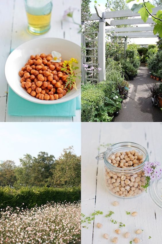 Crispy Roasted Chickpeas with Spices