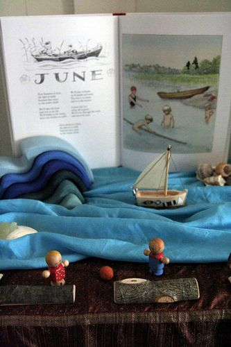 June nature table