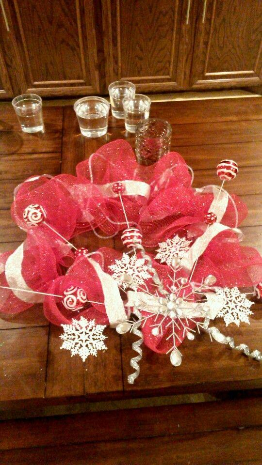 Candy land Christmas wreath