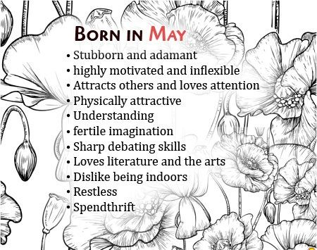 Born In May Birthday Quotes