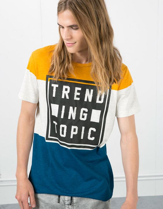 Camisetas - Chico - Chico - Bershka España