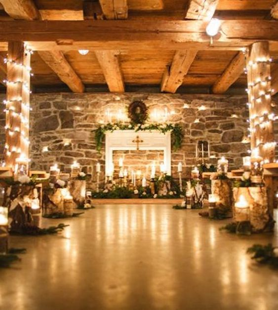Rustic Winter Barn Wedding Ideas: It's Fall! Time To Put The Finishing Touches On Your