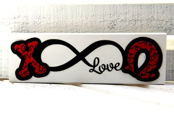 Wooden Chi Omega Stand Alone or Wall Decor by FarabyGreekBoutique, $6.99: