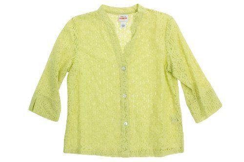 Ruby Rd Key Items 3/4 Sleeve Button Down Eyelet Shirt Ruby Rd. $31.99