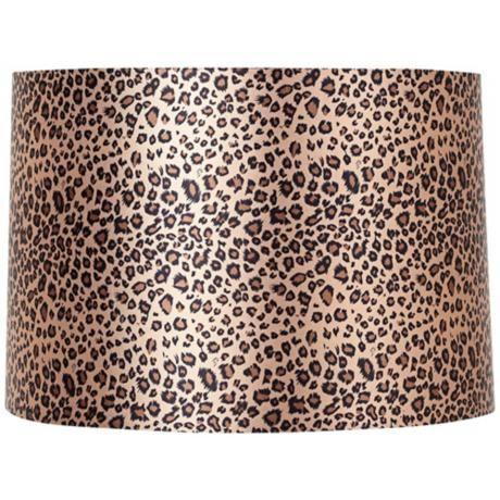 Leopard Print Drum Shade 15x16x11 (Spider) | LampsPlus.com. Perfect!!!!!!