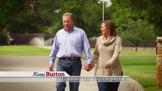 Check out Konni Burton's message to the voters of Senate District 10. We can trust Konni in Austin.