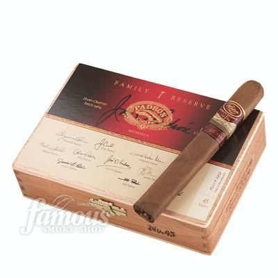 Padron Family Reserve No. 45 Cigars - Natural Box of 10 - This is one of Gregs favorite brands & costly.