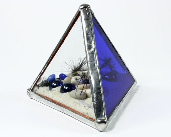 Blue Fishing Paperweight Decor Husband Gift Fly