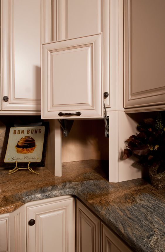 Appliance Garage Counter Top : Storage ideas and appliances on pinterest